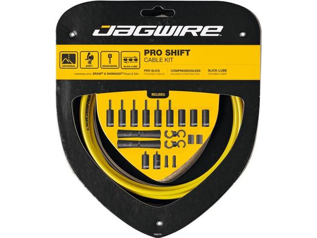 Jagwire 2X Pro Shift Schakelkabel Set, yellow